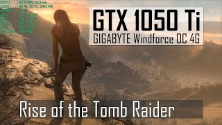 Rise of the Tomb Raider | High 1080p | GTX 1050 Ti | i5-4460