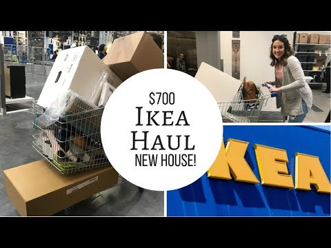 HUGE IKEA HAUL||$700||GETTING READY FOR A NEW HOUSE!