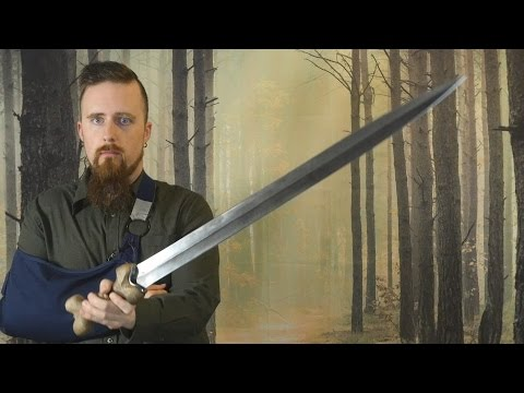 My opinion of the Wulflund Iron Age Celtic sword (not a full review)