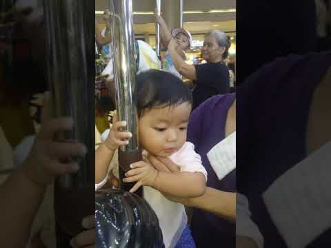 Lia Rides The Carousel With Lola And Kuya