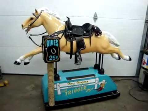 Trigger Horse Dime Store Kiddie Ride by Bernie's ...