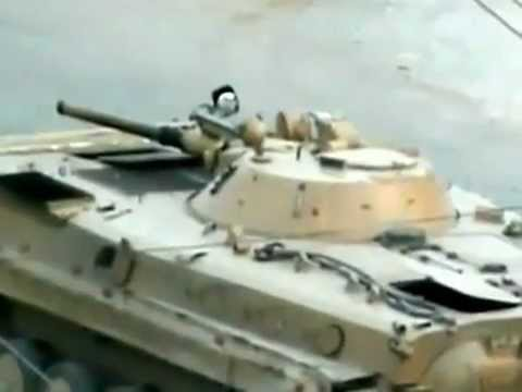 BMP 1 Firing