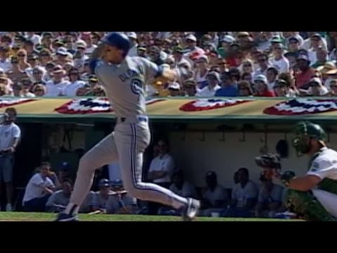 1992 ALCS Gm4: Olerud hammers a solo homer in the 2nd