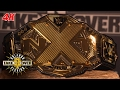 The new NXT Title is revealed: NXT Takeover: Orlando 4K Exclusive, April 1, 2017