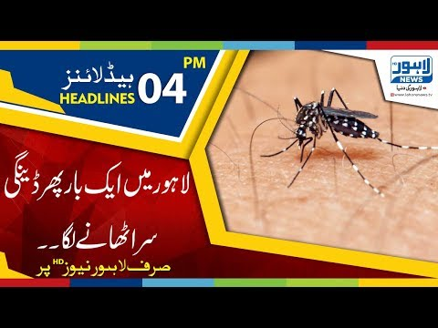 04 PM Headlines Lahore News HD – 25 October 2018