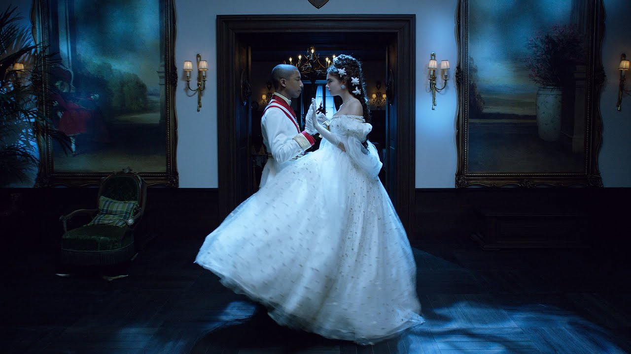 """Reincarnation,"" film by Karl Lagerfeld ft. Pharrell Williams, Cara Delevingne & Géraldine Chaplin"