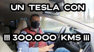 ¿Quieres ver cómo envejece un Tesla? ¿Comprarías un Tesla model S usado con 300.000kms por 30.000€.
