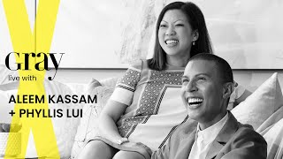 Aleem Kassam + Phyllis Lui join us live for our Virtual Design EXPO Speaker Series
