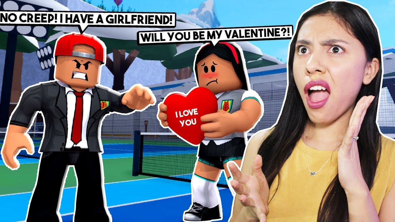MY CRUSH IS CHEATING ON ME WITH THE NEW GIRL! - ROBLOX - YANDER HIGH SCHOOL