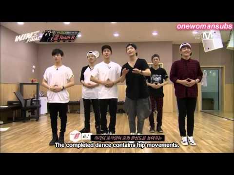[WIN] YG WIN EP 10 CUT : Team B ' Stick To Me' Dance Practice