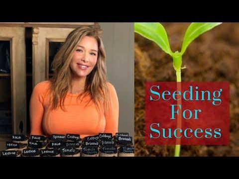 Seeding For Success- Organic Non- GMO Vegetable Gardens