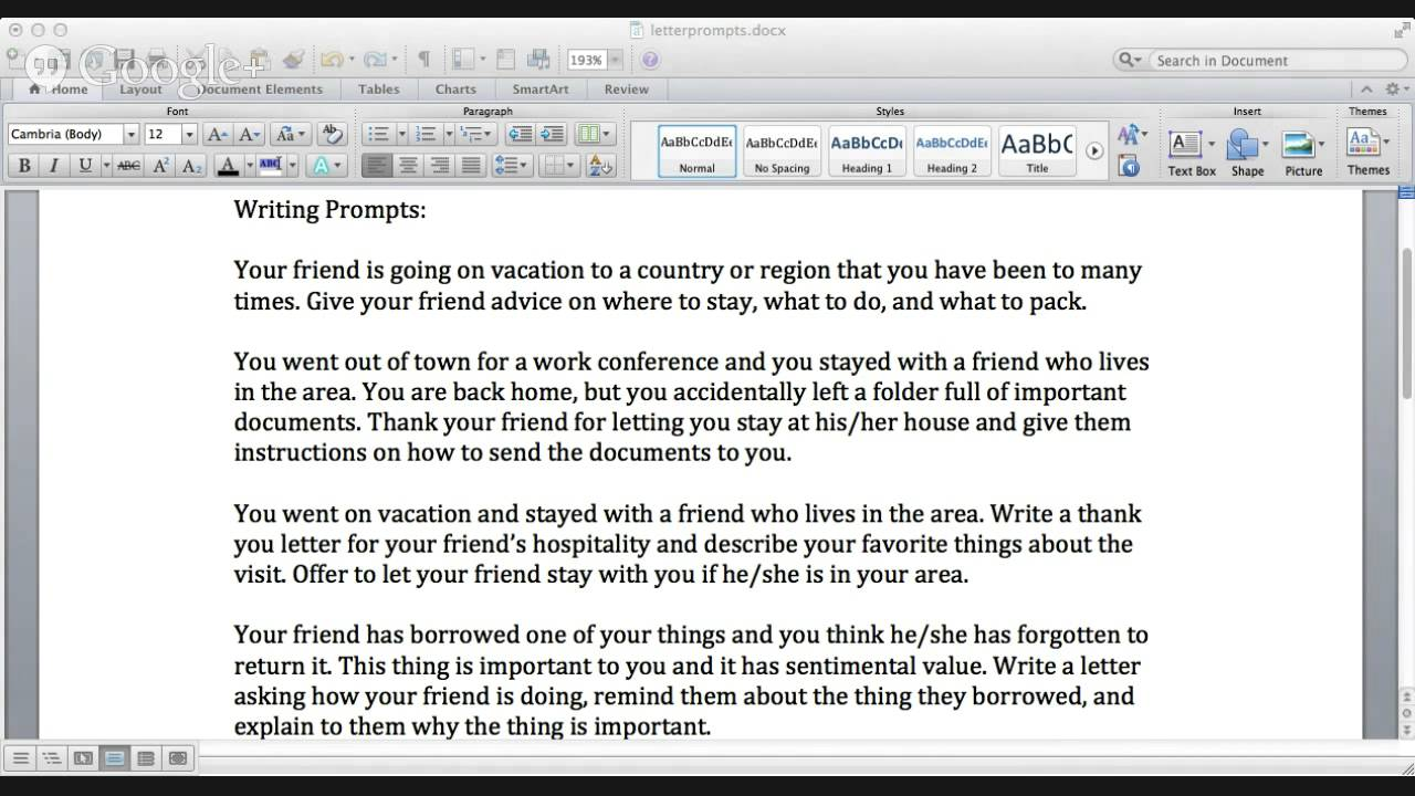 Verbling English Class Writing Personal LettersEmails  Youtube