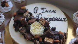 Торт три шоколада. Простой рецепт приготовления и украшения в домашних условиях