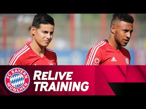 ReLive | FC Bayern Training w/ James, Tolisso & more!
