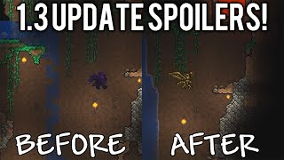 Terraria 1.3 Spoilers: Water Changes, Vine Rope, New Dyes & Fountains! // demize