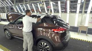 Nissan Kicks fabricação