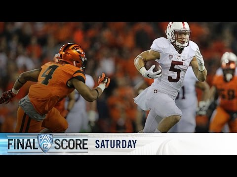 Highlights: No. 21 Stanford football rolls over Oregon State
