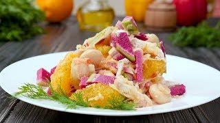 Как приготовить салат из редьки - Рецепты от Со Вкусом