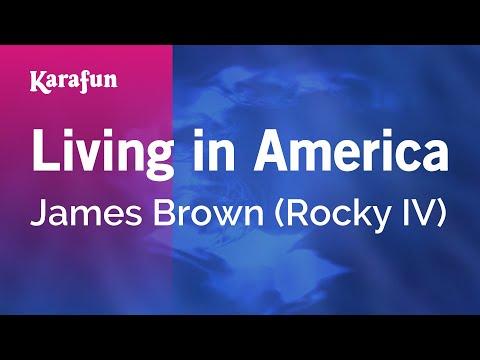 Karaoke Living in America - James Brown *