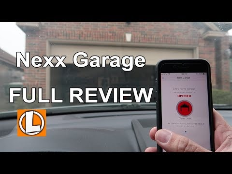 Nexx Garage Review Wifi Garage Door Opener Installation And
