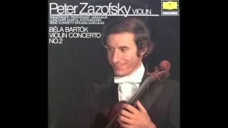 Bartok Violin Concerto No. 2: Andante Tranquillo (2) - Peter Zazofsky | Queen Elisabeth (1980)