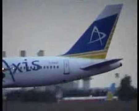 Axis Airways Boeing 757-2K2