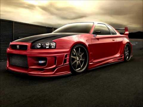 Techno music VS. Nissan Skyline (HD)