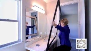 Framing A Bathroom Mirror With Designer Quality Frame Kits