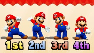 Super Mario Party The Top 100 MiniGames Peach Vs Yoshi Vs Mario Vs Waluigi (Master CPU)