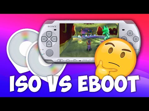 Explained: PSP ISO Vs Eboot Files & How To Install/Play Them