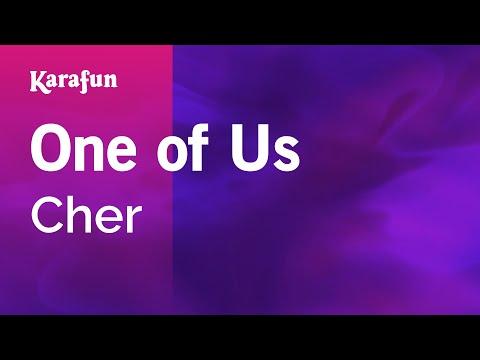 Karaoke One Of Us - Cher *