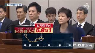 박 전 대통령 재판…아플 때마다 방청객 몰렸다 thumbnail