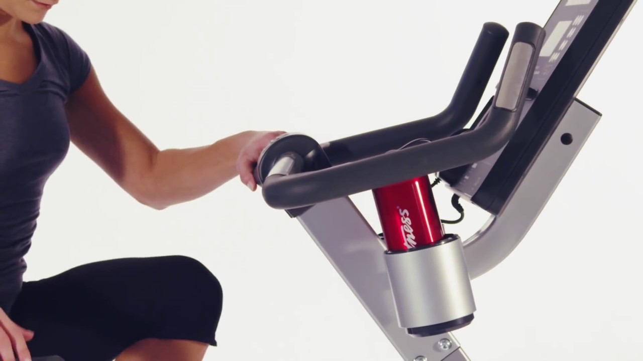 Life Fitness Cslu Lifecycle Upright Bike Club Series Youtube