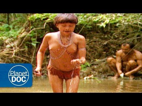 Isolated Amazon Tribe. Yanomami