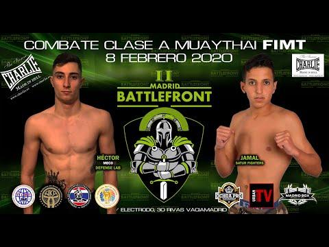 Hector Meco VS Jamal  - Muay Thai - Battlefront II - Urban Channel TV