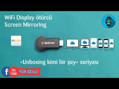WiFi Display ötürücü ⧔MiraScreen⧕