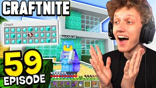 Craftnite: Episode 59 - I SOLD MY FIRST HOUSE! (so many diamonds)