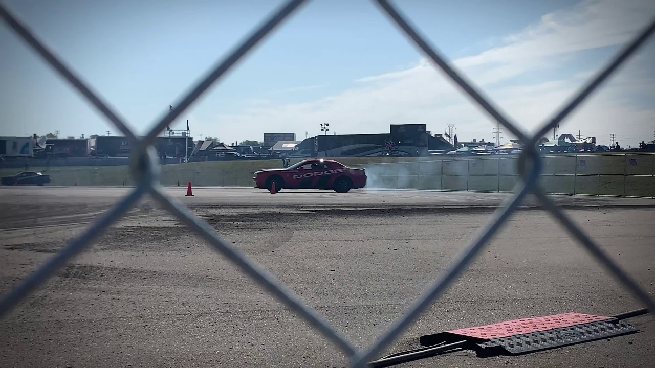 Dodge Thrill Ride Drifting at Roadkill Nights 2019!! - YouTube