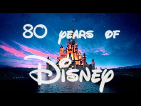 80 years of DISNEY in 3 minutes