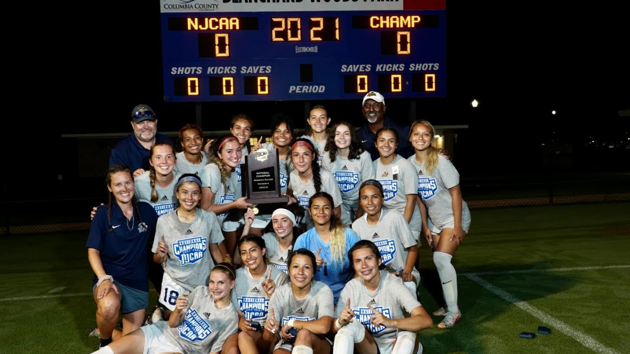 2020-21 NJCAA Division II Women's Soccer Championship - Phoenix vs. Holmes