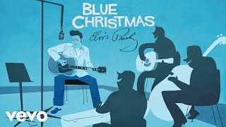 Elvis Presley - Blue Christmas (Official Animated Video)