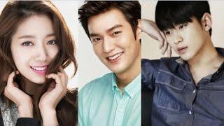 [VOTE] Pilih Park Shin Hye Main Drama Bareng Lee Min Ho Atau Kim Soo Hyun??