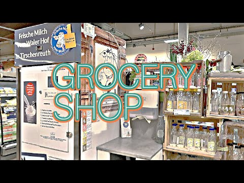 Weekly grocery shopping & more FOOD in Germany