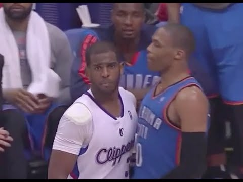 Russell Westbrook Exposes Chris Paul's Overrated Defense - 2014 NBA WCSF