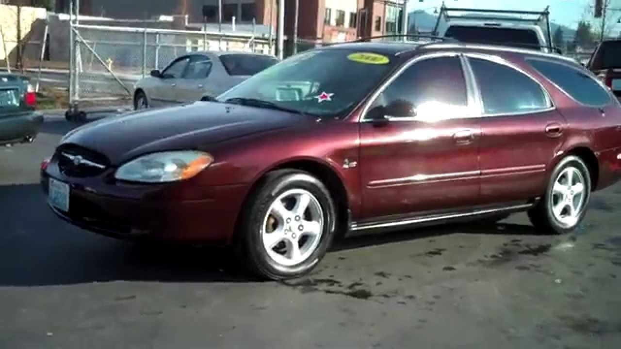 2000 ford taurus wagon sold