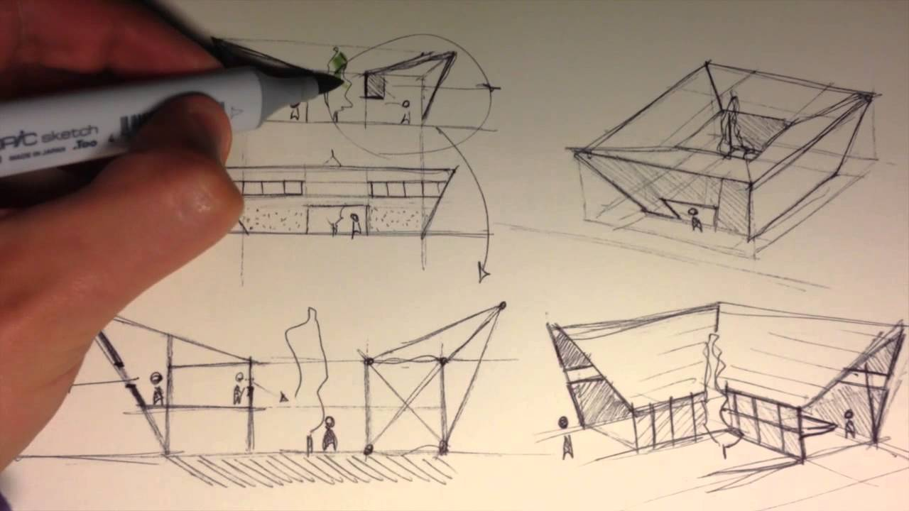 Architecture Design Concept mind of architect | 3 - youtube