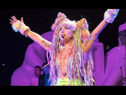 (Full Show) Lady Gaga  - artRAVE Live in Paris Yahoo! Live S