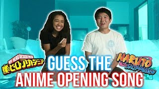 GUESS THE ANIME OPENING SONG w/ Natalie Pluto!