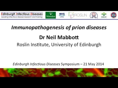 Immunopathogenesis of prion diseases - Neil Mabbott