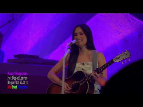 Kacey Musgraves Full show - Oh, what a world tour - Leuven ( Belgium ) Oct. 20.2018